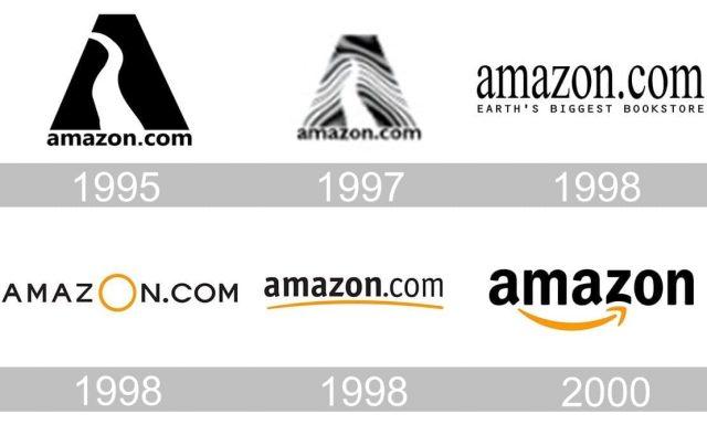 Amazon logo geschichte