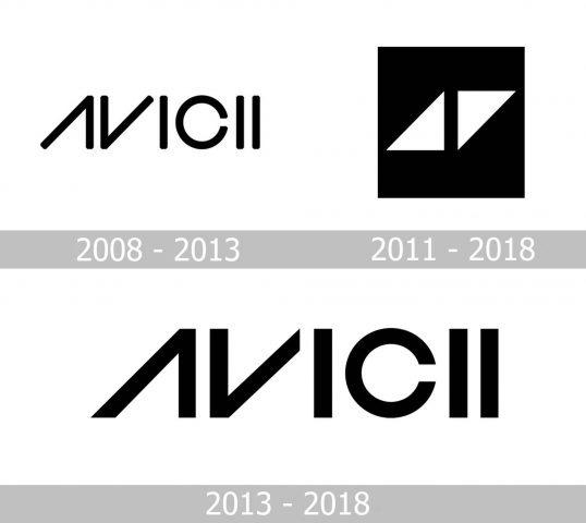 Avicii Logo history