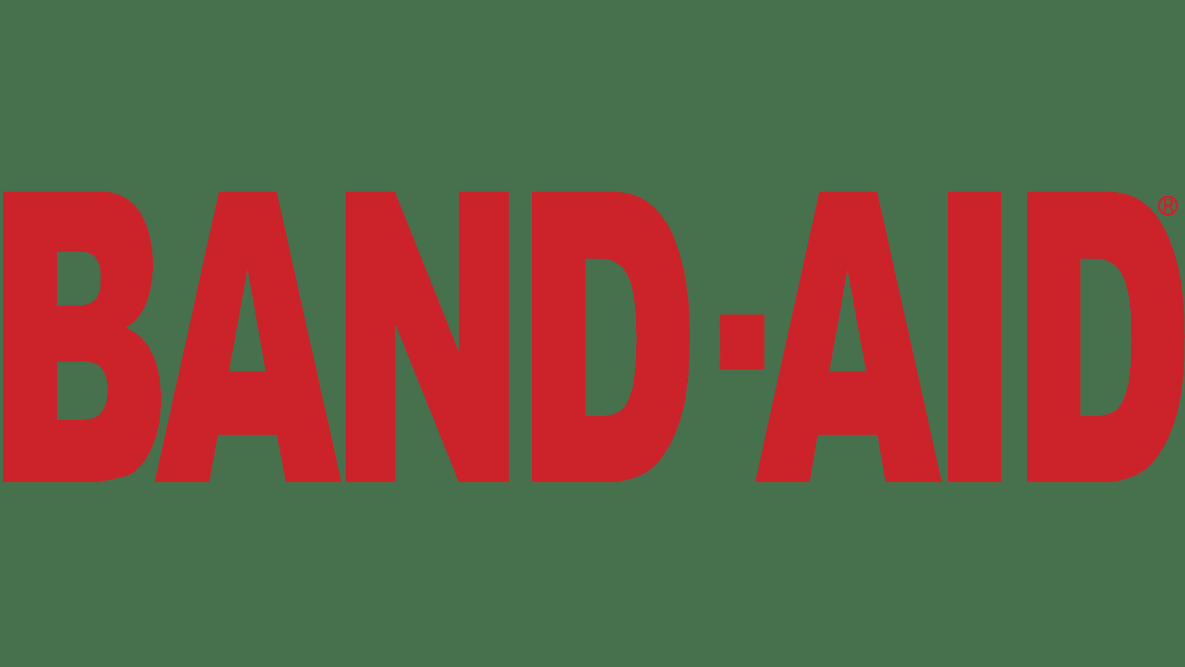 Band-Aid Logo Logo