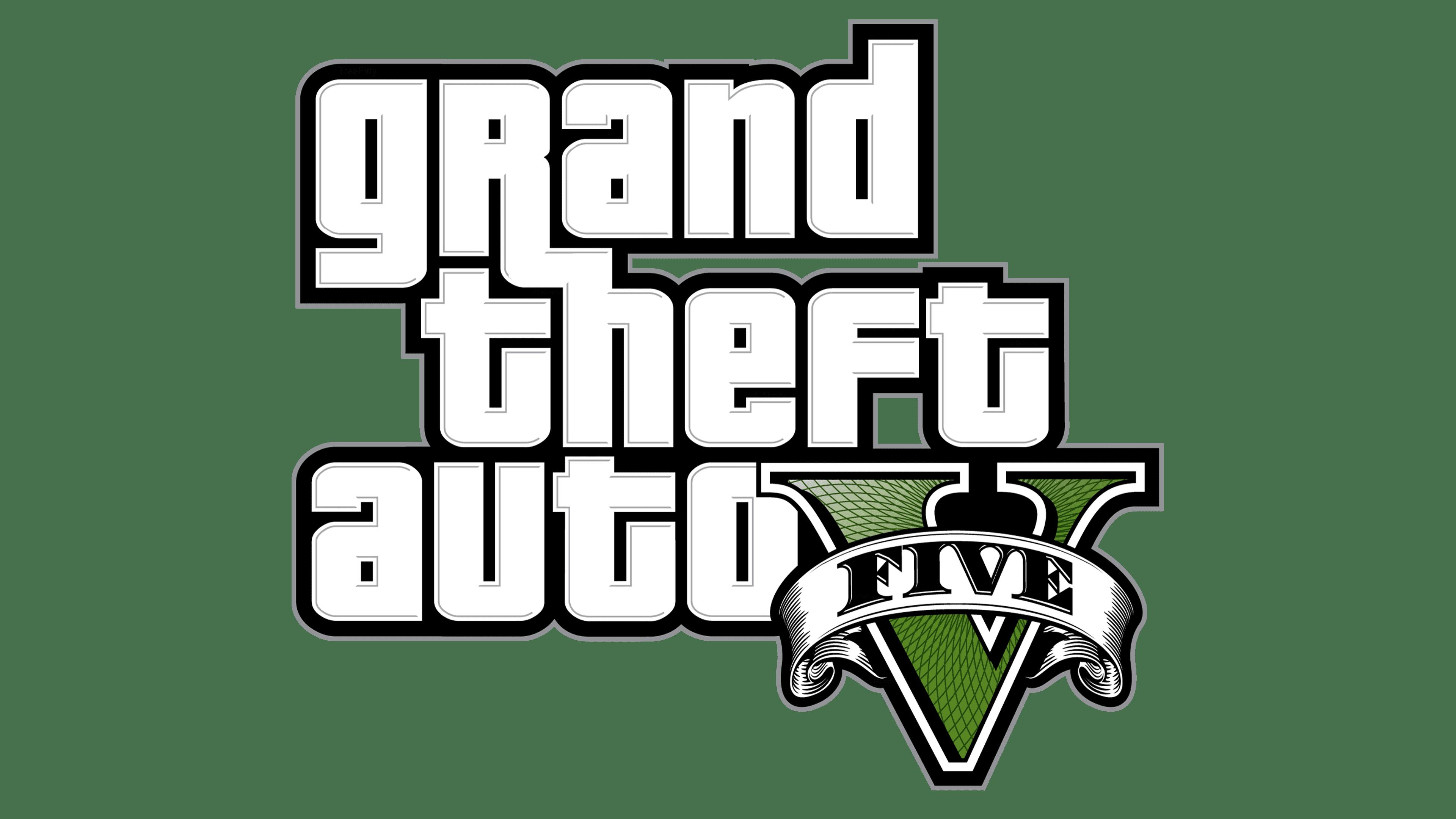 Grand Theft Auto V Logo Logo