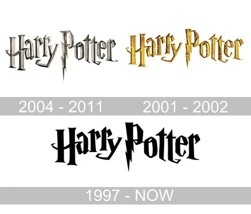 Harry Potter logo geschichte