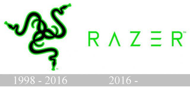 Raze logo history