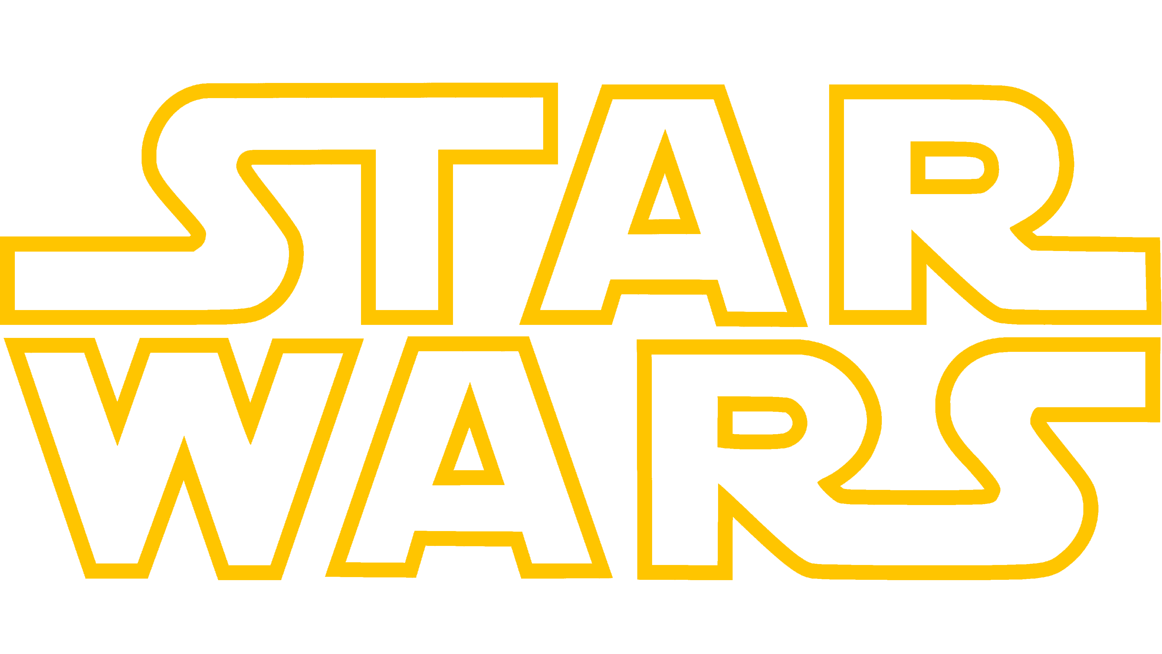 Star Wars Logo Logo