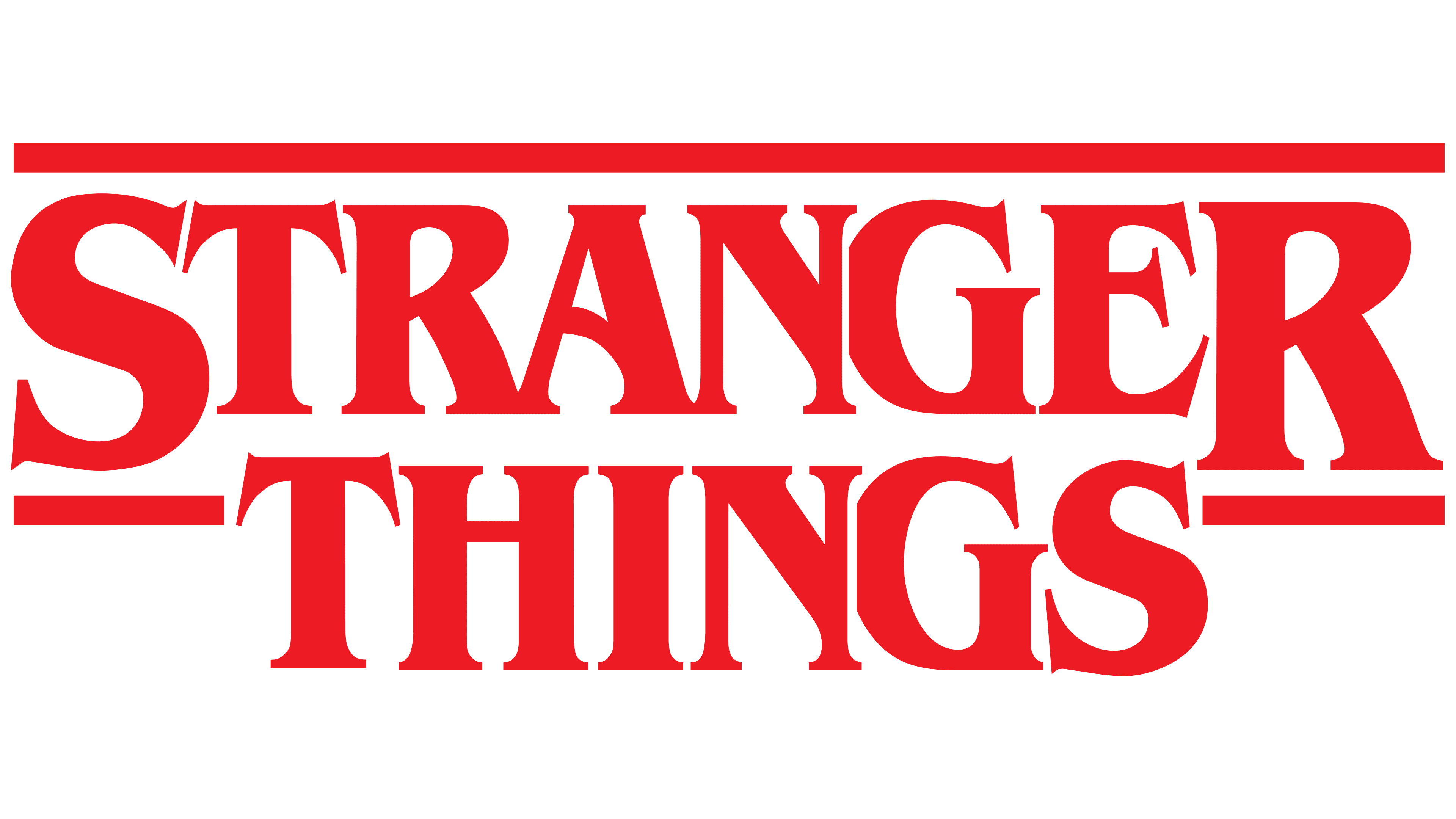 Stranger Things Logo Logo