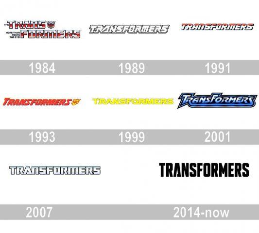 Transformers Logo history