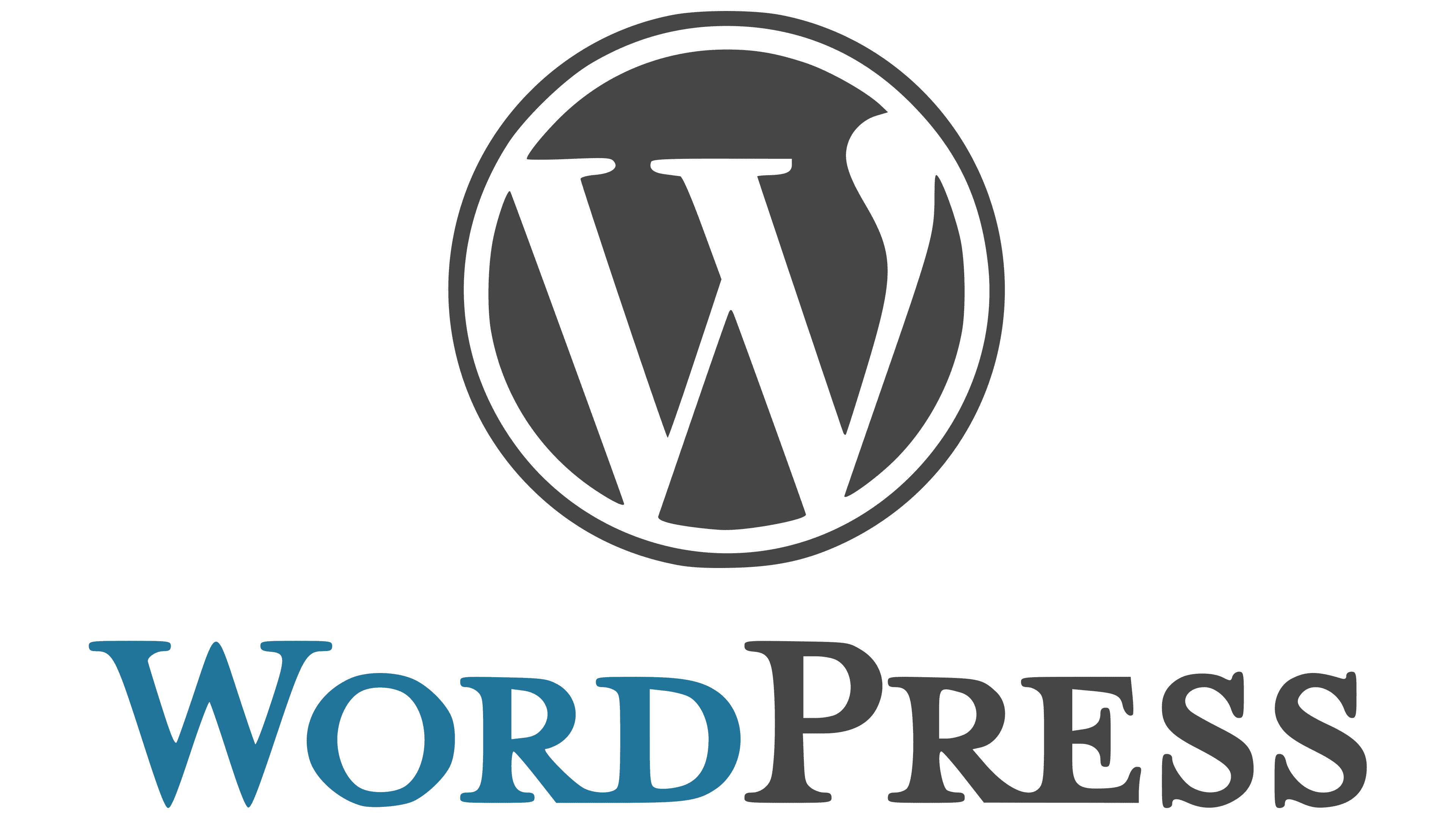 WordPress Logo Logo